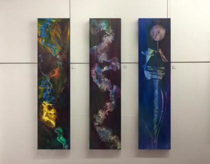 Wikitoria Smith's set of paintings