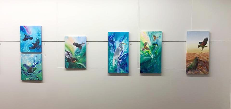 Di Badham's paintings