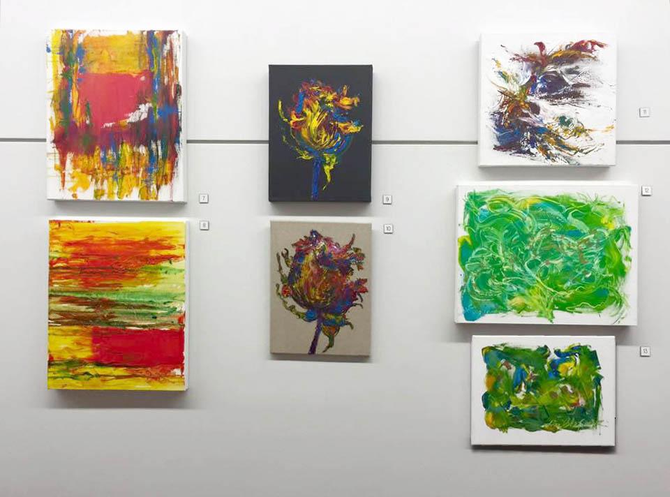 Lea Chapman's set of paintings