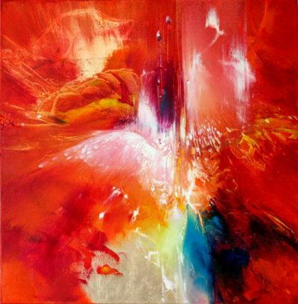 YOU RAISE ME UP, oil on canvas, 50 X 50 cm