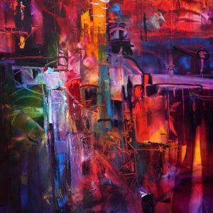 Jungle Juice - 111 X 91 cm - oil on canvas 01