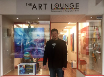 The Art Lounge Window