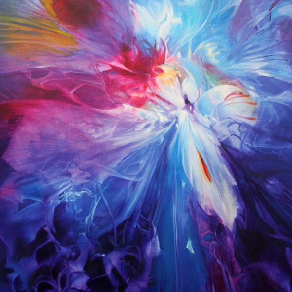 Vjekoslav Nemesh LOVERS II oil on canvas