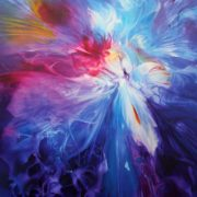 Vjekoslav Nemesh LOVERS II oil on canvas 66 X 50 cm