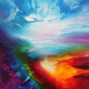 Vjekoslav Nemesh MANA oil on canvas 101 X 50 cm