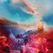 Vjekoslav Nemesh UNIQUENESS oil on canvas 28 X 20cm