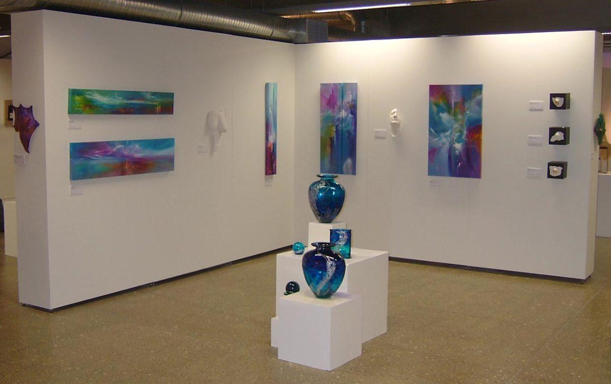 NEMESH WALL first Intercinnection exhibition