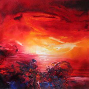 vjekoslav-nemesh-new-morning-2003-oil-on-canvas-72-x-72-cm