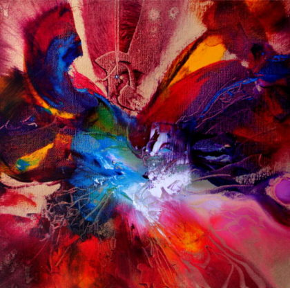 ESSENCE, oil on canvas, 30 X 30 cm